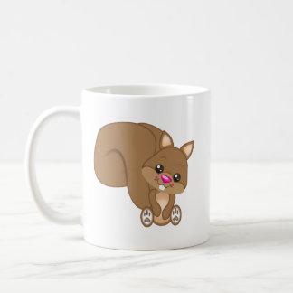 Cute Cartoon Squirrel Coffee Mug