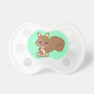 Cute Cartoon Squirrel Pacifier