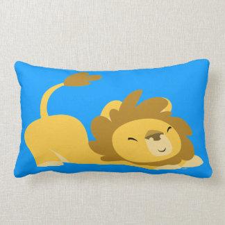 Cute Cartoon Stretching Lion Pillow