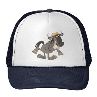 Cute Cartoon Tap Dancing Wildebeest Hat