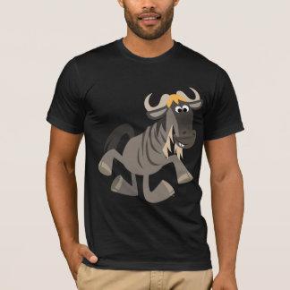 Cute Cartoon Tap Dancing Wildebeest T-Shirt