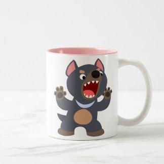 Cute Cartoon Tasmanian Devil Mug