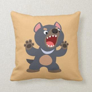Cute Cartoon Tasmanian Devil Pillow