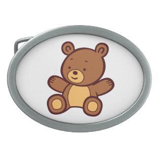 Cute Cartoon Teddy Bear Belt Buckle