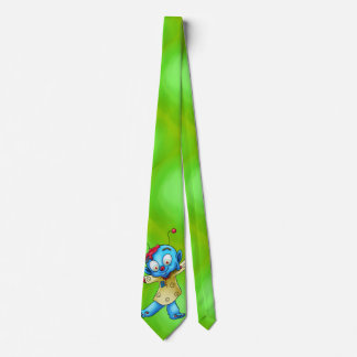 Cute cartoon tie for dads