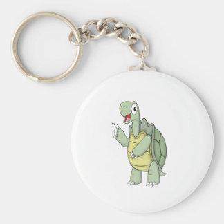 Cute Cartoon Tortoise Shirts Keychain