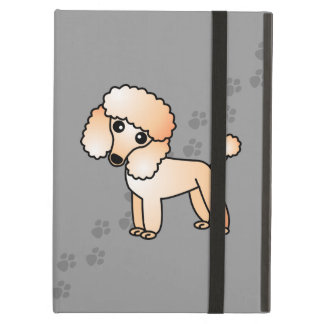 Cute Cartoon Toy / Miniature Apricot Poodle iPad Air Case
