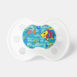 Cute Cartoon Tropical Fish Pacifier