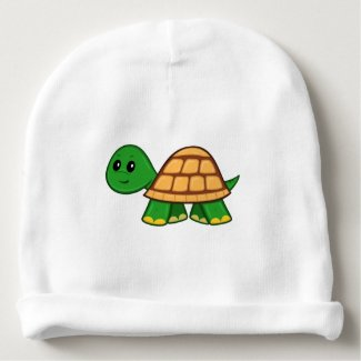Cute Cartoon Turtle Baby Beanie