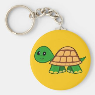Cute Cartoon Turtle Keychain