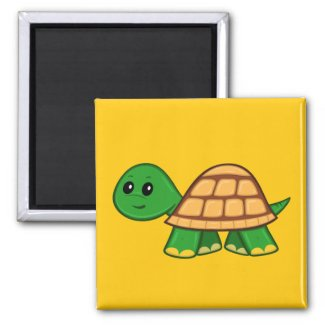 Cute Cartoon Turtle Magnet