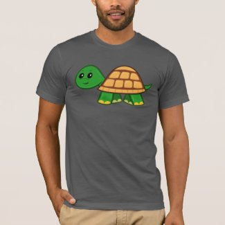 Cute Cartoon Turtle Men's T-Shirt