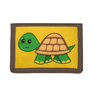 Cute Cartoon Turtle Wallet