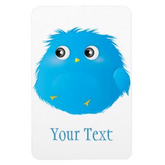 Cute Cartoon Twittie Bird Rectangular Photo Magnet