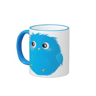 Cute Cartoon Twittie Bird Ringer Mug