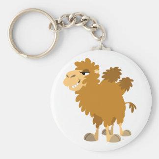 Cute Cartoon Two-Humped Camel Keychain