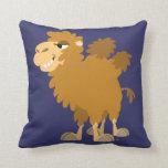 Cute Cartoon Two-Humped Camel Pillow