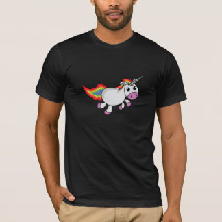 Cute Cartoon Unicorn T-Shirt