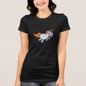 Cute Cartoon Unicorn T-Shirt
