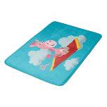 Cute Cartoon Unicorn's Magic Carpet Ride Bath Mat Bath Mats
