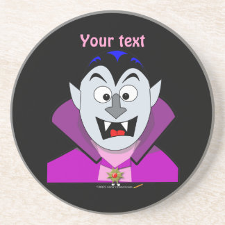 Cute Cartoon Vampire Hallowen Coaster