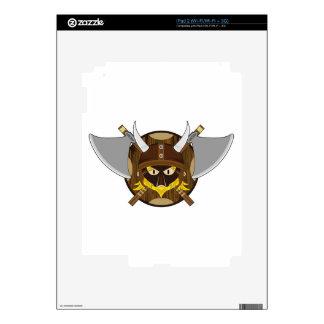 Cute Cartoon Viking Warrior Skins For The iPad 2