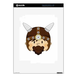 Cute Cartoon Viking Warrior Skin For The iPad 2