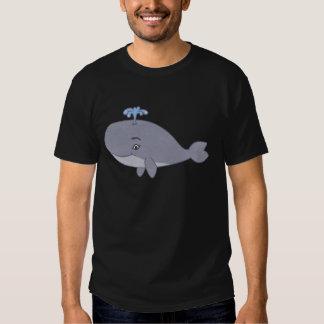 Cute Cartoon Whale Tee Shirt