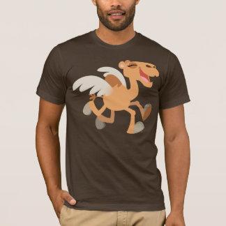 Cute Cartoon Winged-Camel T-Shirt