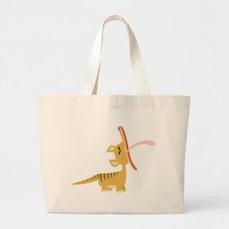 Cute Cartoon Yawning Thylacine Bag