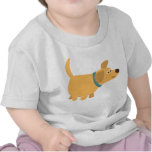 Cute Cartoon Yellow Labrador Baby T-Shirt