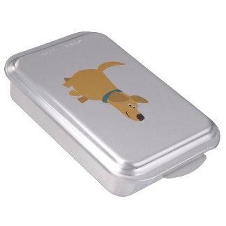 Cute Cartoon Yellow Labrador Cake Pan