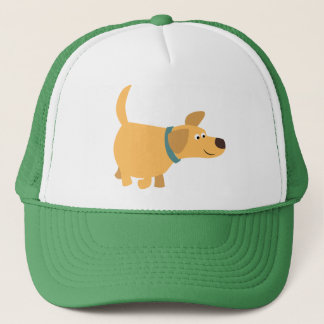 Cute Cartoon Yellow Labrador Hat