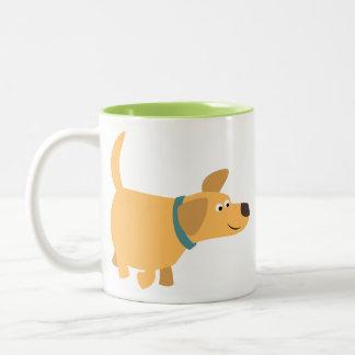 Cute Cartoon Yellow Labrador Mug