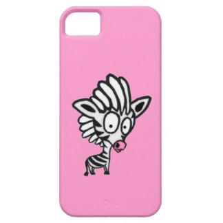 Cute Cartoon Zebra iPhone 5 Cases