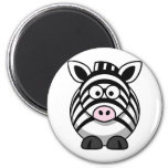 Cute Cartoon Zebra Magnets