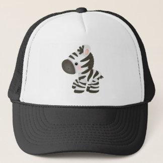 Cute Cartoon Zebra Trucker Hat