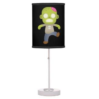 Cute Cartoon Zombie Boy Table Lamp
