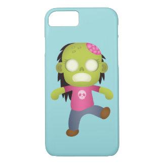 Cute Cartoon Zombie Girl iPhone 8/7 Case