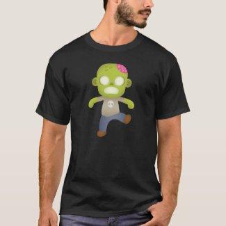 Cute Cartoon Zombie T-Shirt