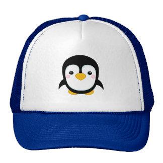Cute Cartoonish Penguin Design Trucker Hat