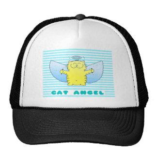 Cute Cat Angel Trucker Hat