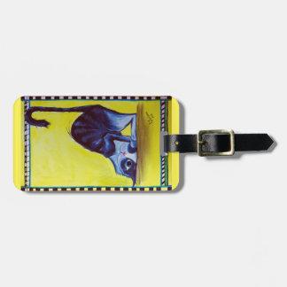 Cute cat bag tag