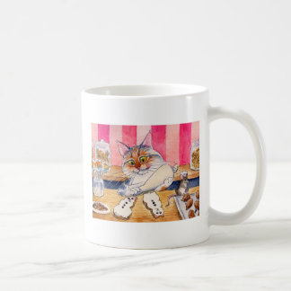 Cute Cat Bakery mug