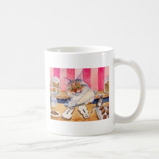 Cute Cat Bakery mug