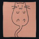 "Cute Cat Bandana<br><div class=""desc"">This is cute cat art that makes the perfect gift.</div>"