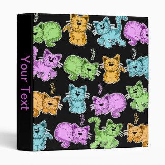 cute cat binders