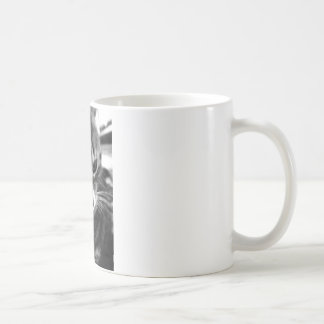 Cute Cat black and white designs Coffee Mug