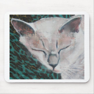 Cute Cat by Luella Mouse Pad