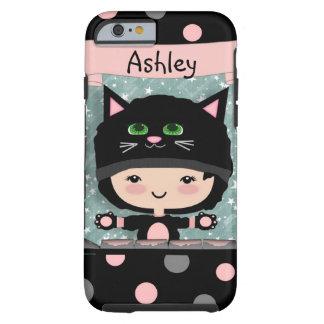 Cute Cat Case Tough iPhone 6 Case